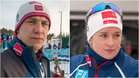 UTTAK MED BISMAK: Erik Valnes og Anna Svendsen har begge to hatt en stor sesong i skisporet. Dermed bærer det siste verdenscuputtaket med seg en viss skuffelse over at det med alle solemerker bekrefter at det ikke blir plass i VM-troppen.