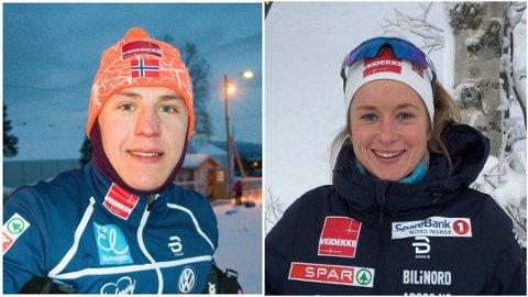 Erik Valnes og Anna Svendsen fikk begge plass på landslagene i langrenn.