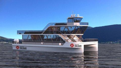 STOR AVTALE: Brim Explorer skal seile for Hurtigruten.