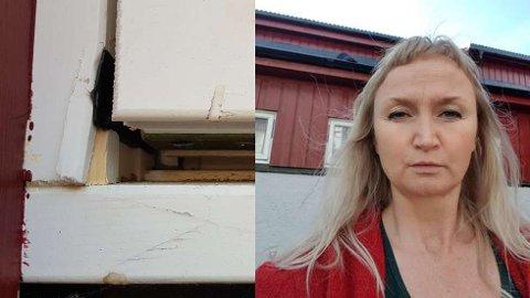 FORTVILET: Rektor ved Berg Montessori-skole, Lill Eilertsen, er fortvilet over innbruddet natt til mandag.