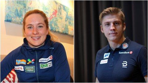 ANNERLEDES JULETID: Skistjernene Anna Svendsen og Erik Valnes er forberedt på vinter helt utenom det vanlige.