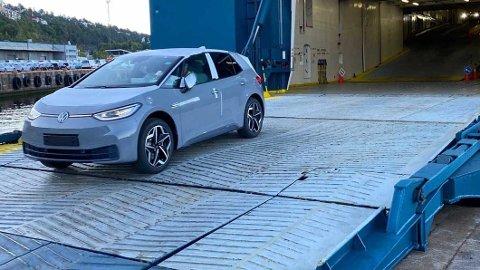 SUKSESS: Anført av splitter nye VW ID.3 har nybilsalget i Norge hatt en oppadgående tendens i høst. Oktober ble all time high for nye personbiler.