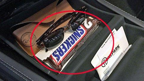 PASS PÅ: Har du også en sjokolade liggende i bilen? Det kan komme til å koste deg dyrt …