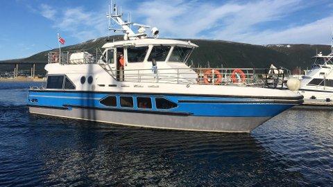 """KAIKAFÉ: """"Capella"""" er til vanlig ute på tokt med turister. Nå blir den byens nye utested ved kai i Tromsø sentrum."""
