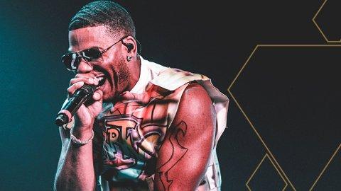 UTGÅR: Lørdagens konsert med Nelly avlyses på grunn av koronasituasjonen.