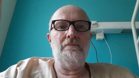 INNLAGT: Trygve Rikkart Nilsen (64) er lagt inn på sykehus i Spania, etter at han testet positiv for koronavirus.