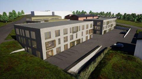 KINDEREGG: Langnes Utvikling vil etablere to kontorbygg i Sjølundvegen 3-5 med lager og parkeringsplasser særlig for sørvisbedrifter.