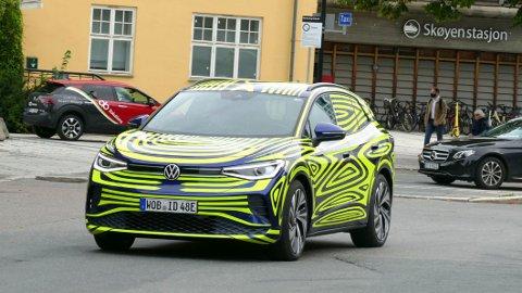 Volkswagen ID.4 er i Norge akkurat nå, for første gang. Dette er bil nummer to i VWs store elbil-offensiv.