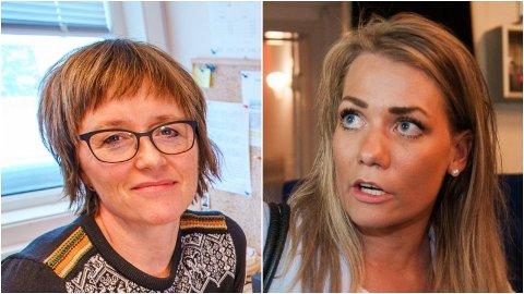 BER OM LETTELSER: Sylvi Ofstad i Troms og Finnmark idrettskrets og stortingsrepresentant Sandra Borch er samstemte i kravet om lokalt tilpassede restriksjoner for idretten i tiden som kommer fremover.