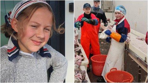 TRAVEL TOLVÅRING: Hannah Tøllefsen dyrker både skuespill og den innbrigende jobben som torsketungeskjærer. Nå flytter hun til Tromsø for hovedrollen i Kulturhusets storsatsing denne høsten.