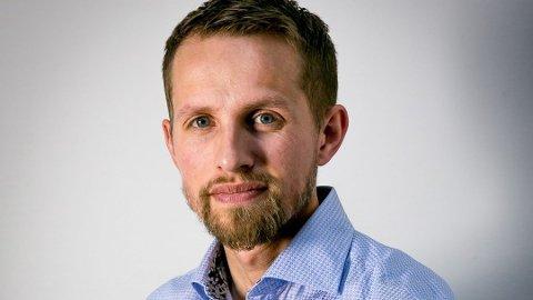 Sjefredaktør Helge Nitteberg i Nordlys.