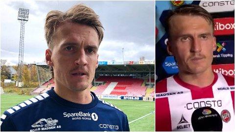 TYDELIGE MELDINGER: Runar Espejord (25) har gjort friske intervjuer med udødelige fraser i kampintervjuer til et lite varemerke på fotballbanen. Sist søndag kom et nytt viralt utbrudd.