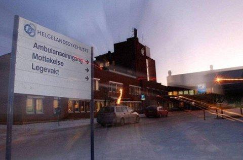 NY: Hvordan blir framtidens sykehus på Helgeland? Foto: Avisa Nordland.