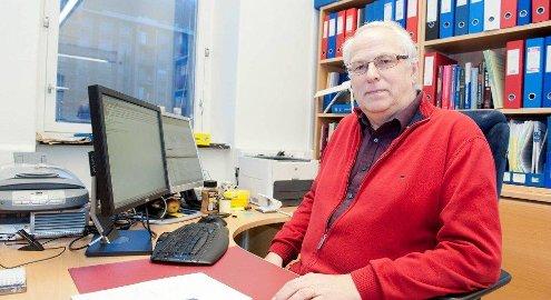 Tor B. Aasen er tidligere overlege og avdelingsdirektør ved yrkesmedisinsk avdeling på Haukeland. Foto: MAGNE TURØY