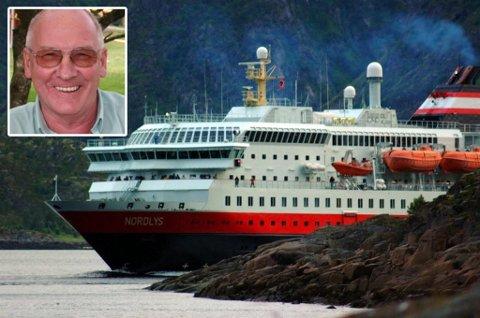TIL VURDERING: Jarl G. Vian er største nordnorske eier i Hurtigruten.