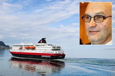 LYKTES IKKE: Paul Dahlø var en av de sentrale politikerne som forsøkte å beholde Hurtigruten på nordnorske hender. Det mislyktes.