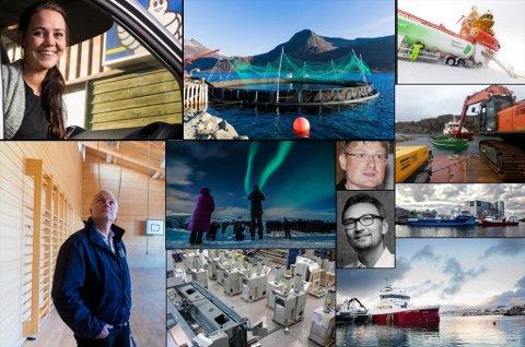 Fotokollasje: Marius Fiskum, Delitek, Barents Naturgass, Radius Kirkenes, Arctic Seaworks, Nordlys, Ramsalt,Havtrans