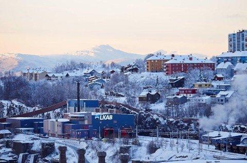LKABS anlegg i sentrum av Narvik. Foto: Kristoffer Klem Bergersen