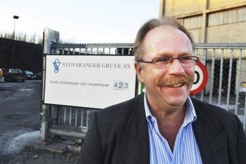 MÅ GÅ: Utviklingsdirektør Harald Martinsen blir konsulent.