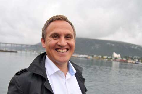 FREMTIDEN ER I HAVET: - Vi har fantastiske ressurser i havet vårt her nord. Det gjelder bare å ha tro på våre produkter og selvtillit nok til å markedsføre dem over hele verden, sa Asbjørn Lilletun, da han i høst overtok som Norinnova-direktør. Foto: Magnus Aamo Holte