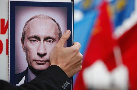 Vladimir Vladimirovitsj Putin. Foto: Eduard Korniyenko/Reuters/NTB Scanpix