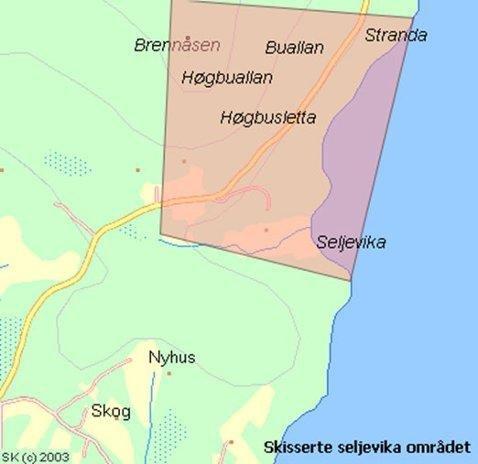 Dette området i Lyngen skulle selges til kineseren. Foto: Privat