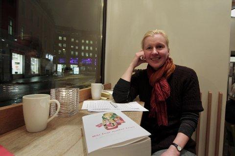 BOK NUMMER TO: Boka om norsk-russiske forretningsforbindelser er Katerina Smetaninas andre bok om Russland. Foto: Rune S. Alexandersen