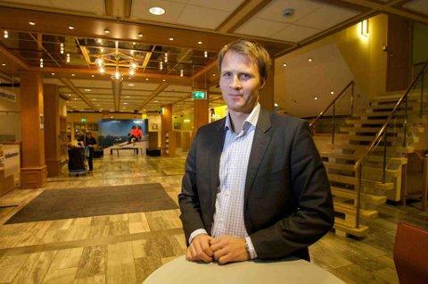 TRYGGE: Banksjef personmarked, Lars Nymo Trulsen i Sparebanken Nord-Norge, sier nordmenn ikke har kultur for å binde renta. (Foto: Ola Solvang)