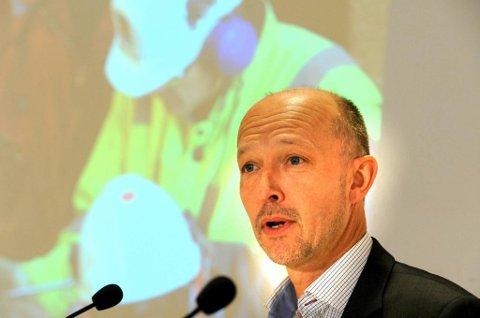 LETESJEF: Konsernsjef for leting i Statoil, Tim Dodson. Foto: Terje Pedersen, ANB
