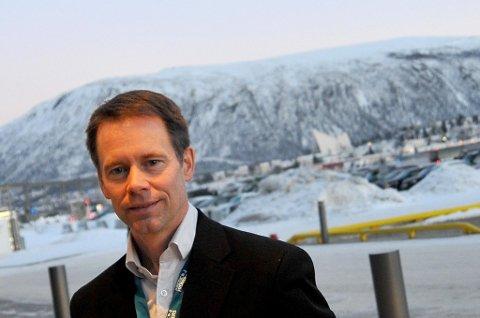 Øystein Rushfeldt ved Nussir. Foto Magnus Aamo Holte