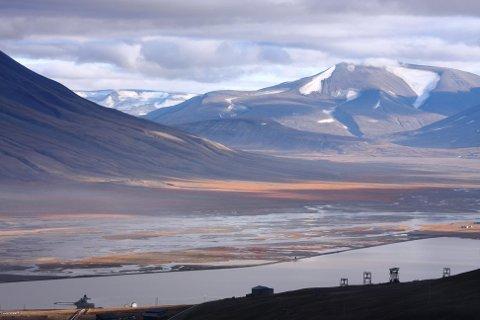 Isdammen: Her vil Robert Johansen hente eksklusivt vann fra Svalbard. Foto: Wikipedia