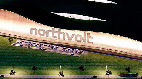 Northvolt vil bli Europas største produsent av litiumbatterier.