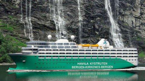 NYE HURTIGRUTEN: Vil bli «hurtigrute»-eier Havila Kystruten AS har lagt inn tilbud på fire skip på Samferdselsdepartementets Kystrute-konkurranse.