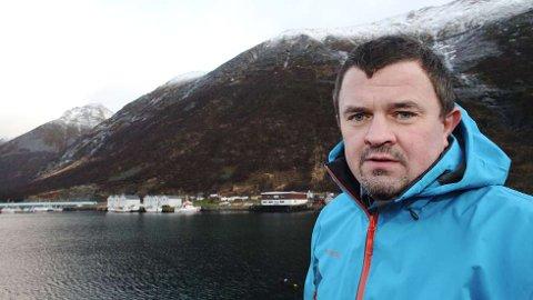 VILLE KJØPE EIENDOM: Rolf-Bjørnar Tøllefsen fra Husøy ville sammen med investorer by på kvartalet rundt Fiskernes Hus i Tromsø. Men han fikk aldri sjansen, mener han.