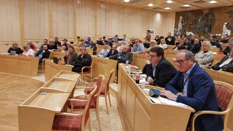 VEDTAK: Fylkestinget diskuterer eierskap i Troms Kraft.