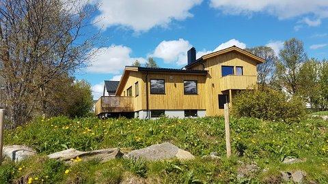 SOLGT: Boligen i Kohtvegen på Bjerkaker i Tromsø ble solgt for 8,7 millioner kroner nylig.