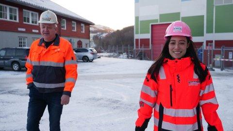 SER FREMOVER: Direktør Greger Mannsverk og HR-Manager Trine Skårvik (36) i Kimek Offshore.