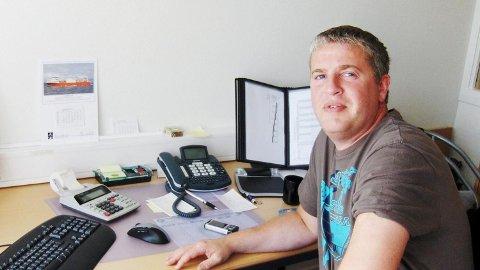 REDER: Snorre Eidshaug er medeier og skipper i Eidshaug rederi.
