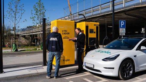 SKAL LEVERE LADERE: Selskapet Kople har fått avtale med Ishavskraft om å levere infrastruktur til ladestasjoner