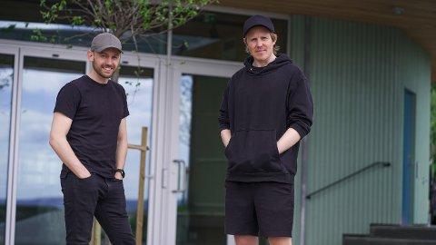 GRÜNDERE: Arne-Morten Willumsen (til venstre) og Lasse Brurok startet selskapet i 2017.