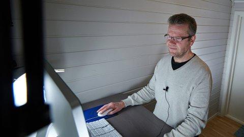 NYTT FIRMA: Paal Stavrum fra Verdal gir seg som daglig leder i Inderøy Utvikling for å ta et nasjonalt marked innenfor e-læring og e-bøker.