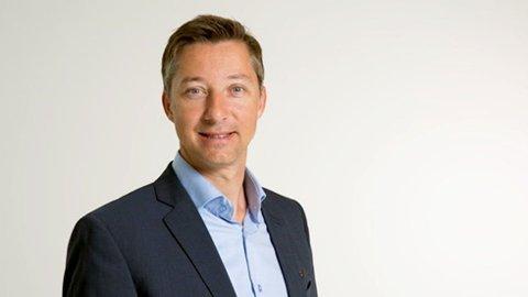 GRØNN SATSING: Bjørn Asle Hynne, administrerende banksjef i Aasen Sparebank.
