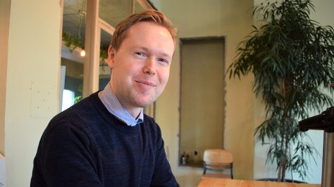 NYANSATT: Torgeir Aarsund Trapnes har nylig fått ny jobb hos Snopp Designbyrå i Steinkjer.
