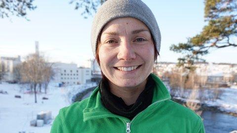 DAGLIG LEDER: Eline Bye forteller at det har vært en prosess mot at hun nå innehar rollen som daglig leder i familieselskapet.