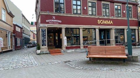 STENGER DØRENE: Naborestaurantene Ristorantino og Somma midt i Trondheim er rammet av samme konkurs.