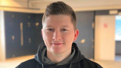 SER MULIGHETER: Gjøran Gustavson håper å fange opp noen av de 3000 arbeiderne på industriområdet i Verdal som medlemmer til nytt treningsenter.