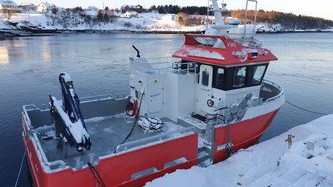ELEKTRISK: Folla Maritime Service har levert «El-Vine» til Nova Sea.
