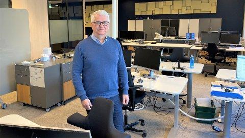 KORONAANALYSE: Regionbanksjef for næringsliv, Kjell Morten Myrvang i Sparebank1 SMN gjør opp regnskapet i trøndersk næringsliv etter ett år med korona.