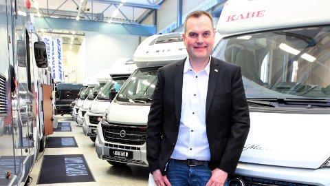VOKSER: Svein Roger Nordbakk er klar for å ta Namsen Auto et steg videre inn i Norden og nystartet samarbeid.