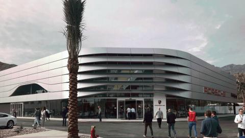 PREMIUMPROSJEKT: Byggingen av ny Porsche-forretning på Tiller starter i høst.